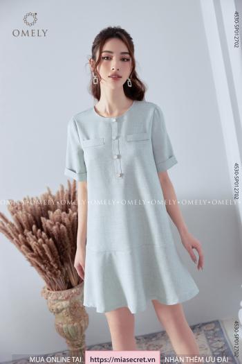 Váy Liền Xanh Ngọc Đuôi Cá